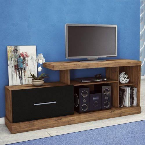 Rack para Tv com Porta de Correr R202 100% Mdf - Dalla Costa