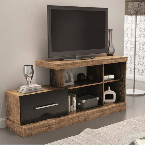 Rack para Tv com Porta de Correr R206 100% Mdf - Dalla Costa