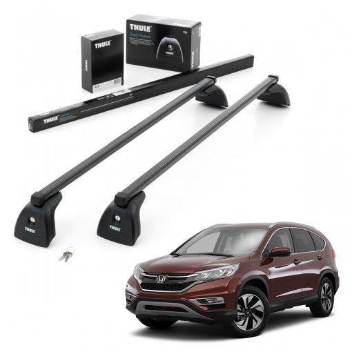 Rack Teto Completo Thule SquareBar Honda CRV 2012 a 2018 712200