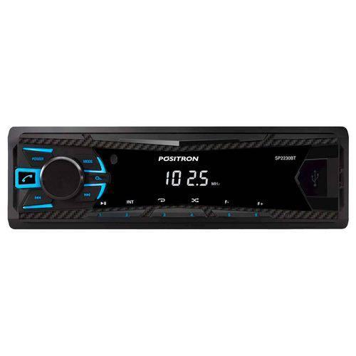 Rádio Automotivo Pósitron Sp 2230, Bluetooth, Preto