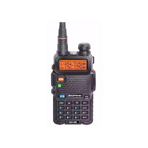 Rádio Baofeng Dual Band Uv-5r 136-174/400-520 Mhz + Fone