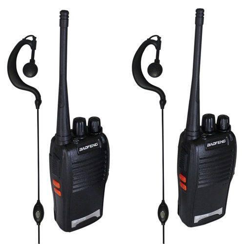 Radio Comunicador Baofeng Uhf Vhf 16 Canais Completo BF-777s