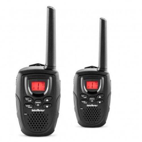 Radio Comunicador Intelbras Icon 4528002 Rc5002 Kit com 02 Radios 26 Canais Visor Luminoso