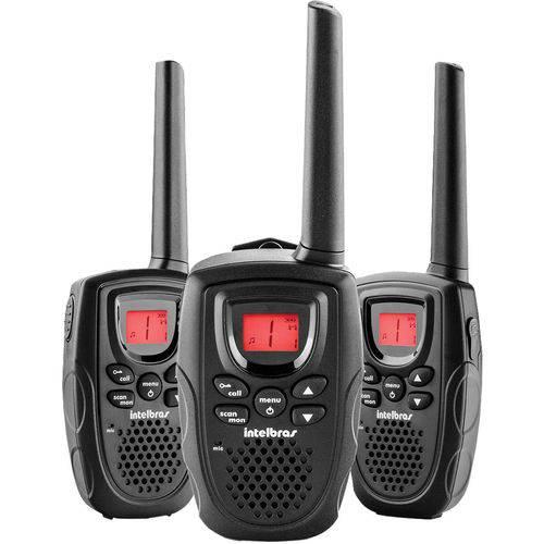 Radio Comunicador Rc5003 Preto Intelbras