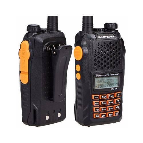 Radio Comunicador Segurança Baofeng Uv 6r Syc + Fone