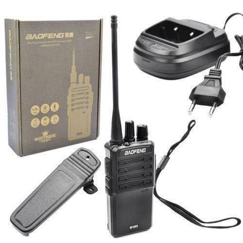 Rádio Comunicador Walk Talk Baofeng 1 Unidade Bf-555s Bf-555s Baofeng Bivolt
