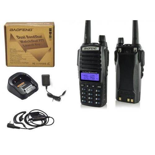 Rádio Comunicador Walk Talk com Rádio Fm e Lanterna Unitário Baofeng Baofeng