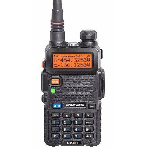 Rádio Dual Band Uv-5r 136-174/400-520 Mhz Fon