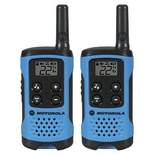 Rádio Motorola Talkabout Serie T100 - Azul