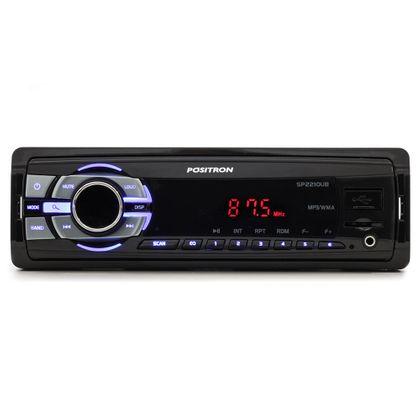 Rádio MP3 Player Slim Pósitron SP2210UB USB Auxiliar Micro SD