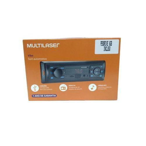 Rádio Multilaser VIBE USB /rádio FM /MP3 Pendrive Incluso 8gb
