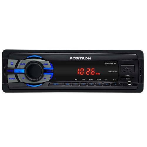 Rádio para Carro Mp3 Usb/sd Positron