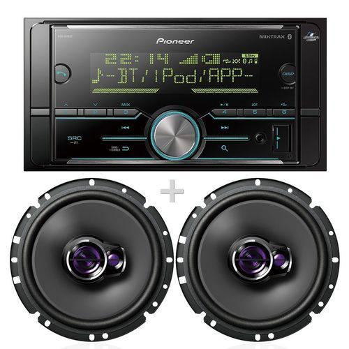 Radio Pioneer Mvh-s618bt Bluetooth 3 Rca Falantes Ts1760