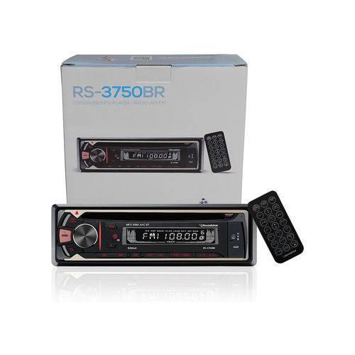 Rádio Rs-3750br 4x52w Rms Cd/sd/usb/mp3/am/fm Roadstar