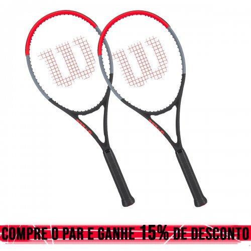 Raquete de Tênis Clash 100L 16x19 310g - Wilson