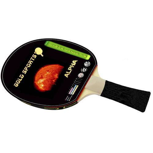 Raquete para Tênis de Mesa Gold Sports Alpha