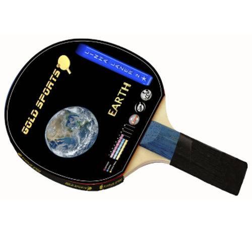 Raquete para Tênis de Mesa Gold Sports Earth