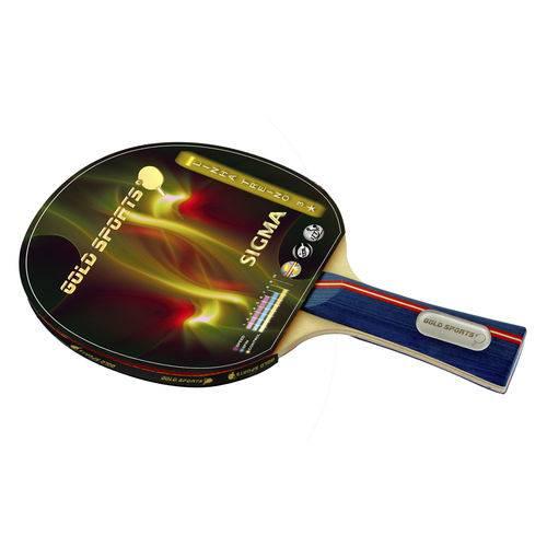 Raquete para Tênis de Mesa Gold Sports Sigma