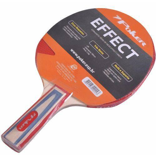Raquete Tênis de Mesa Poker Effect 09017-00