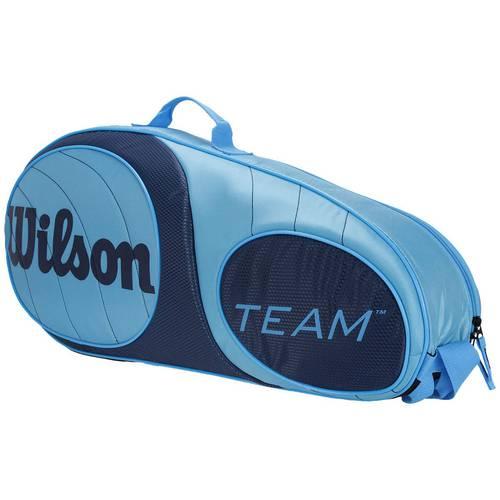 Raqueteira Wilson Team 3 Pack Wrz853403 Azul Claro / Azul Escuro Único