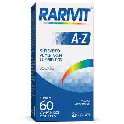 Rarivit A-Z 60 Comprimidos Revestidos