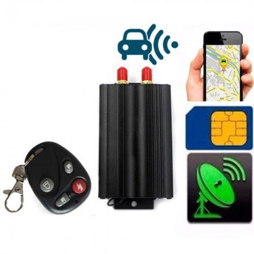 Rastreador GPS VEICULAR Localizador Função Escuta SOS Controle On-Off