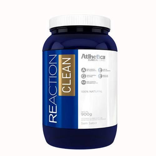 Reaction Clean - Atlhetica Nutrition 900g - Sem Sabor