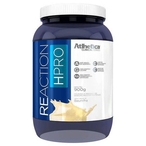 Reaction Hpro Isolado e Hidrolisado - 900g - Atlhetica Nutrition