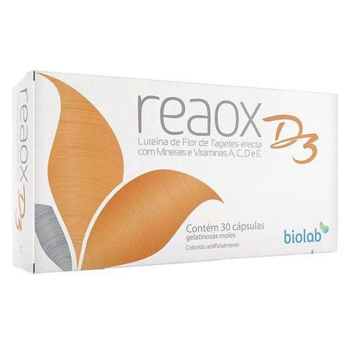 Reaox D3 - 30 Cápsulas