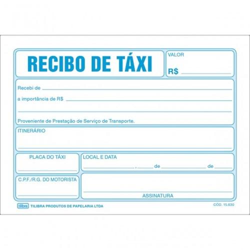 Recibo de Taxi - 50 Folhas 156302