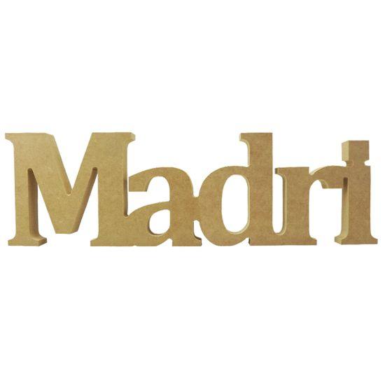 Recorte Enfeite de Mesa Madri 40x12cm - Madeira MDF