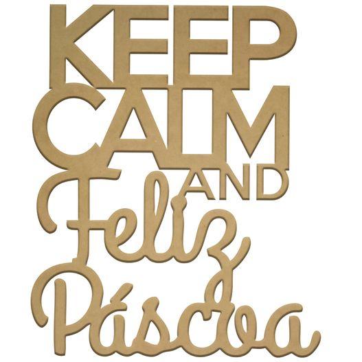 Recorte Keep Calm Páscoa G