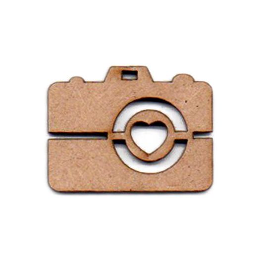 Recorte Laser Câmera Fotográfica I