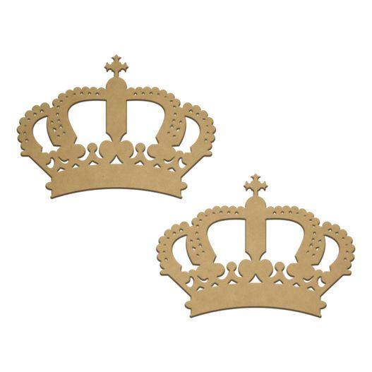 RECORTE LASER Coroa Real M