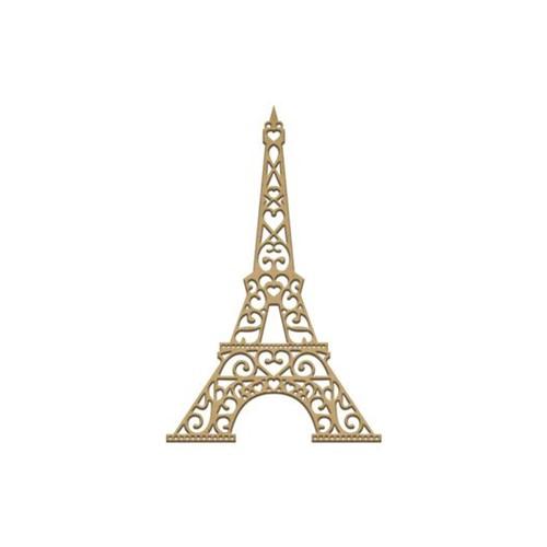 Recorte Laser Torre Eiffel P