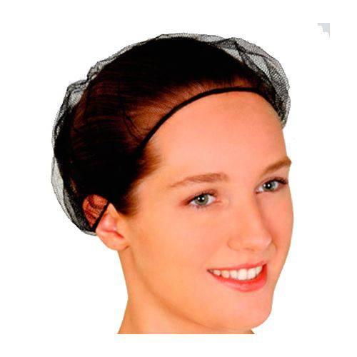 Rede P/cabelo Preta C/1 Unidade