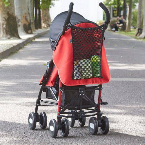 Rede Porta Objetos para Carrinho de Bebê - Black - Chicco