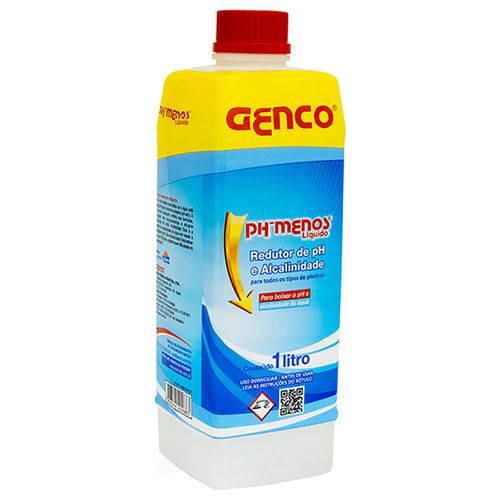 Redutor de Ph e Alcalinidade Genco 1 Lt para Piscina