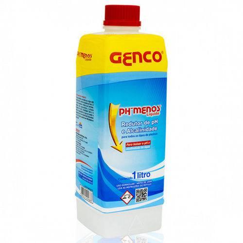 Redutor de Ph e Alcalinidade Total Ph Menos Liquido 1 Litro Genco