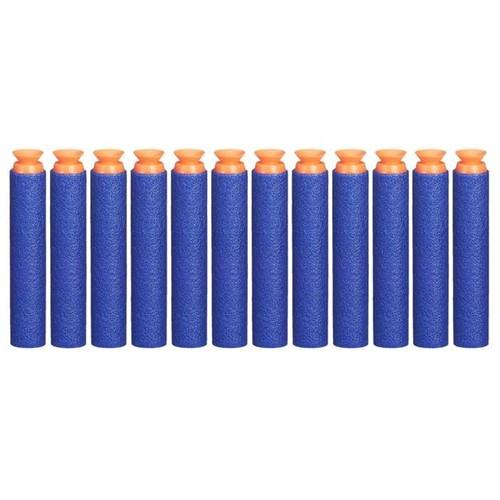 Refil 12 Dardos Sucção Nerf N-Strike A5334 Hasbro Azul