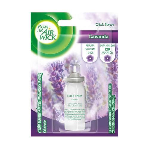 Refil Bom Ar Air Wick Click Spray Lavanda