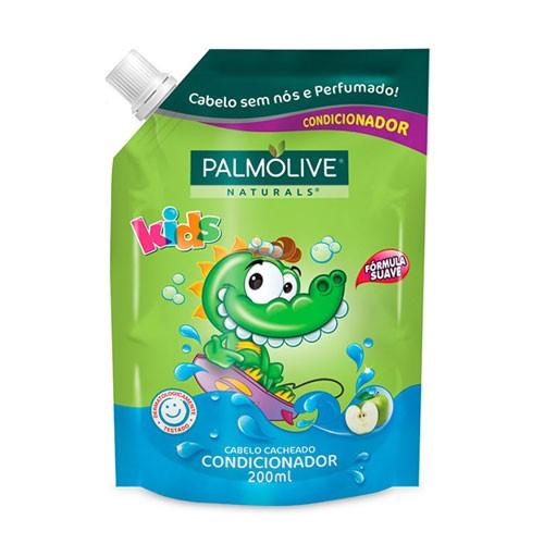 Refil Condicionador Palmolive Kids Cabelos Cacheados 200ml