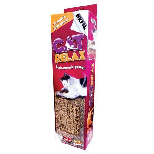 Refil de Papelão para Brinquedos de Gatos Cat Relax Furacão Pet - 0042