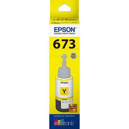 Refil de Tinta Amarelo T673420 Epson