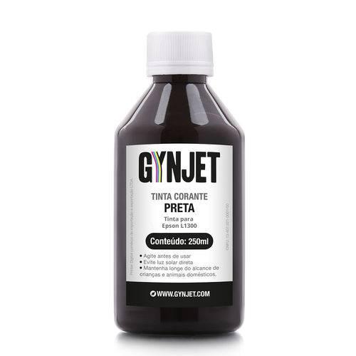 Refil de Tinta Epson L1300 Black 250ML Gynjet