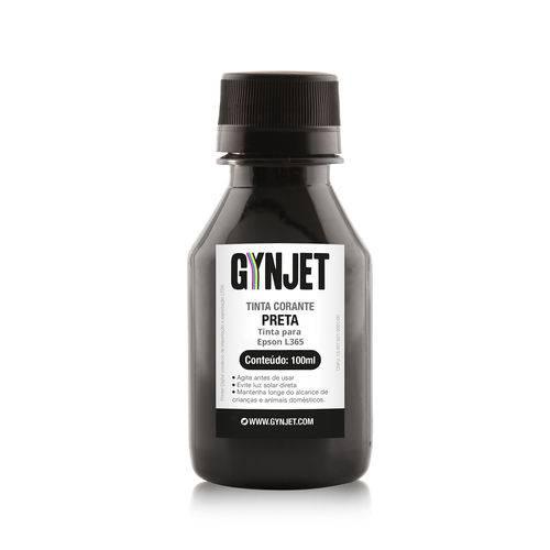 Refil de Tinta Epson L365 Black 100ML Gynjet