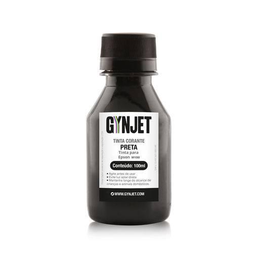Refil de Tinta Epson M100 Black 100ML Gynjet