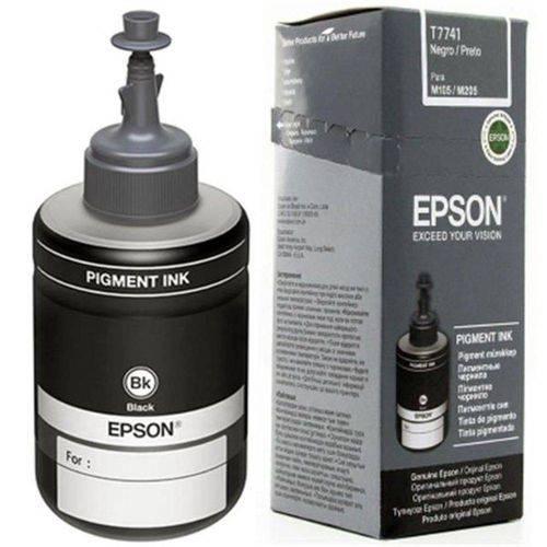 Refil de Tinta Epson Preto 140 Ml - T774120-al