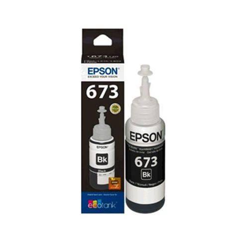 Refil de Tinta Epson Preto 70ml - T673120-al