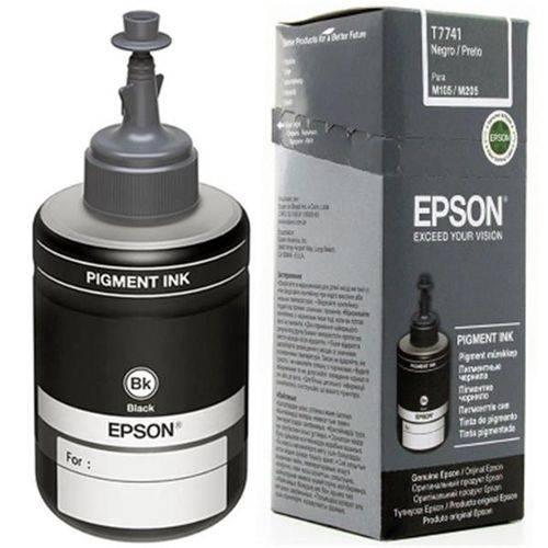 Refil de Tinta Epson Preto P/ M105/m205 140 Ml - T774120-al